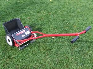 芝刈り機準備