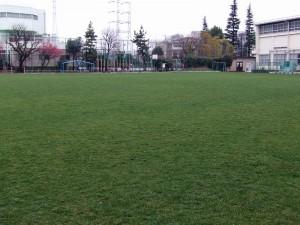 和泉小の校庭
