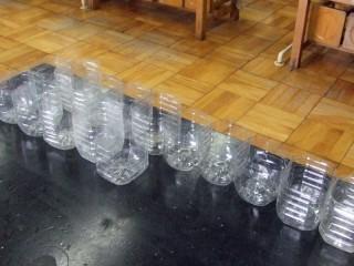 ペットボトルの加工