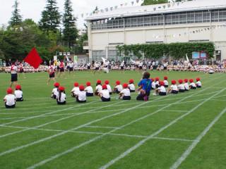 芝生の運動会